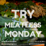 Try meatless monday