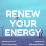 Renew your energy